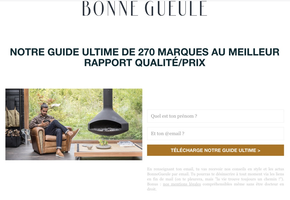 Exemple de guide pour capter des mails et alimenter la mailing list.