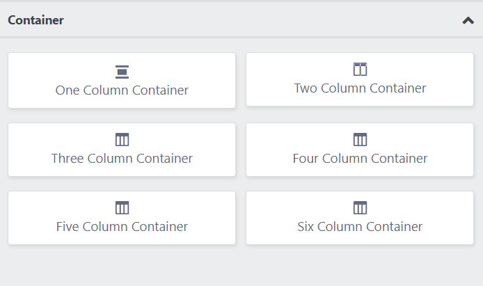 containers fluent forms